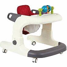 Lauflernhilfe 2-in-1-Aktivität Walker-Sitz-oder