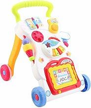 Lauflernwagen Baby Walker Lauflernhilfe mit Musik