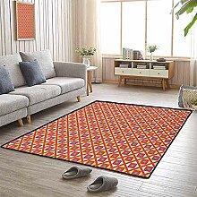 LAURE Großflächenteppich Teppich Karomuster mit