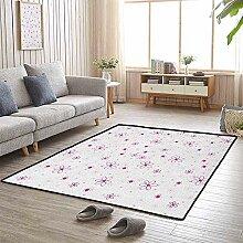 LAURE Large Area Teppich Muster mit Blumen