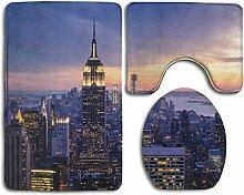 LAURE New York City Flanell Druck Toilette