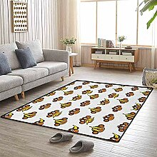 LAURE Teppich-lustige Affen mit