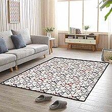 LAURE Teppich mit großer Fläche und