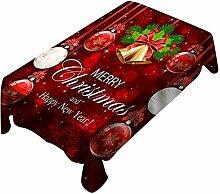 LAURUSQ Weihnachten Weihnachten Tischdecke Für