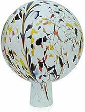 Lauschaer Glas Gartenkugel Rosenkugel aus Glas mit