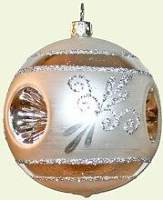 Lauschaer Glaskunst-Christbaumkugel Reflexkugel