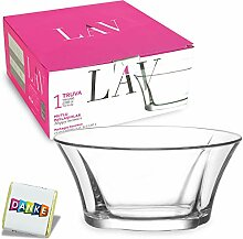 Lav TRUVA Design Salatschüssel aus Glas,