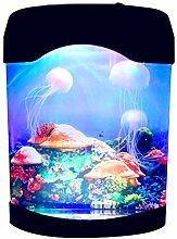 Lavalampe mit Farbwechsel, für Aquarien, LED,
