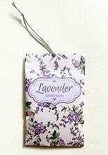 Lavendel Duft Duft Beutel zum Aufhängen–6Stück–Frischt Kleidung/Auto/Kleiderschrank/Zeichne