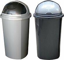 Lavigo Mülleimer ROLLTOP 50 Liter, mit