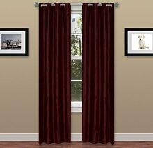 Lavish Home Duschschiebetür gewellt Vorhang-Set
