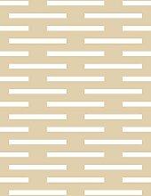Lavmi Design Tapete Club, Vlies, Beige 53 x 5 cm