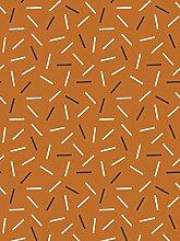 Lavmi Design Tapete Matches, Vlies, Cinnamon, 53 x 5 cm