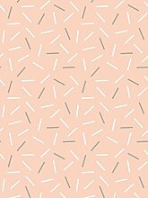 Lavmi Design Tapete Matches, Vlies, Rosa, 53 x 5 cm