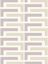 Lavmi Design Tapete Salon, Vlies, Violett, 53 x 5