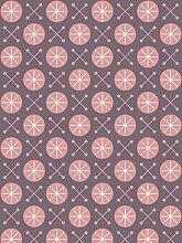 Lavmi Design Tapete Sky, Vlies, Violett, 53 x 5 cm