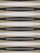 Lavmi Design Tapete Suites, Vlies, Schwarz 53 x 5