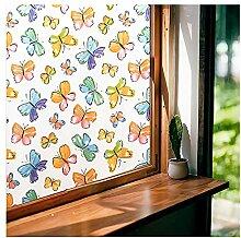 LAVOUP Fensterfolie, Sichtschutz, matt, dekorativ,