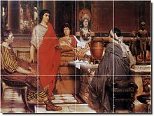 Lawrence 1500historischen Wand fliesenwandbild 26. 61x 81,3cm mit (12) 8x 8Keramik Fliesen.