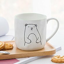 Laxba Kaffeetasse Keramikbecher tragen