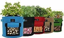Laxllent Pflanzen Tasche,Kartoffel