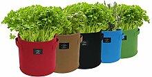Laxllent Pflanzen Tasche,Pflanzsack,Dauerhaft