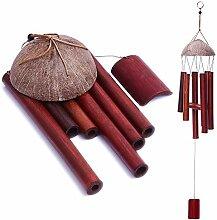 Layssa Windspiel für drinnen und draußen, Bambus