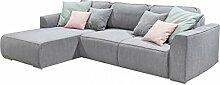 LAZY Ecksofa Schlaffunktion Couch Schlafsofa Sofa