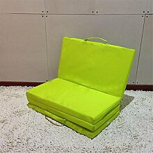 Lazy Sofa Moisture Einfache Camping Matten Rest Matte Falte Nap Pad Stealth Bett Unterbring Bett Boden Stühle Yoga Matten Größe 170 * 60 * 4cm , green