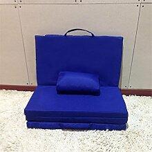 Lazy Sofa Moisture Einfache Camping Matten Rest Matte Falte Nap Pad Stealth Bett Unterbring Bett Boden Stühle Yoga Matten Größe 170 * 60 * 4cm , B