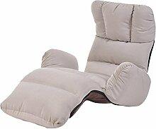 Lazy Sofa Tatami Sofa Sofa Bett Sofa Stuhl Lazy Stuhl Schlafzimmer kleine Sofa Größe: 175 * 56cm , gray