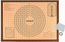 Lazymi Dick Backunterlage Silikon Groß 71 x 51cm,
