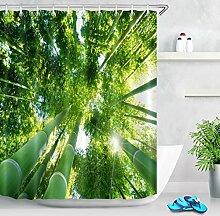 LB Bambus Wald Landschaft Foto Green Bamboo