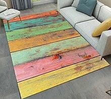 LB Farbe, Holz, Area Rug, Wohnzimmer Schlafzimmer