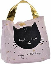 LB H&F Türstopper Schwer Stoff Sack Tier Katze