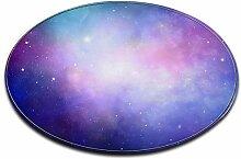 LB Runde Bereich Teppich Spielmatte, lila Ion,