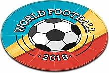 LB Runde Bereich Teppich Spielmatte, WM Fußball,
