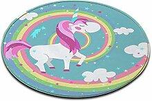 LB Runder Bereich Teppich Spielmatte, Cartoon,