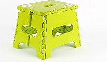 LBAFS Dicke Kunststoff-Klappbank Tragbar Mini Home