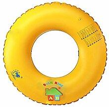 LBAFS Schwimmring Kinder Erwachsene Orangenmuster