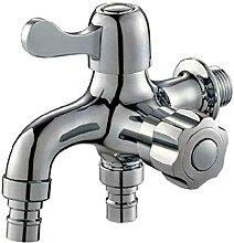 LBBYLFFF Wasserhahn Waschmaschine Wasserhahn für