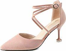 LBDX High-Heeled Schuhe, Sexy Sommer Sandalen Frau
