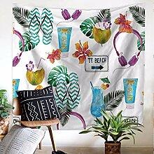 lbonb Mandala Sommer Marine Pflanzen Hause