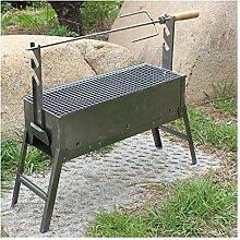 LBS Holzkohle Bonfire Tisch Grilllammbein Grill