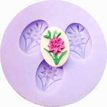 LC Beautiful Flower X099Silikon Fondant Form