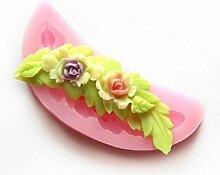 LC Blume Mond Form X502Silikon Fondant Form Kuchen Form Schokolade Backen Sugarcraft Dekorieren Werkzeuge