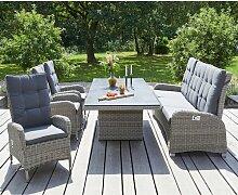 LC Garden Bilbao Gartenmöbel-Set 5-tlg. Tisch