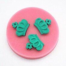 LC Krone x1119Silikon Fondant Form Kuchen Form Schokolade Backen Sugarcraft Dekorieren Werkzeuge