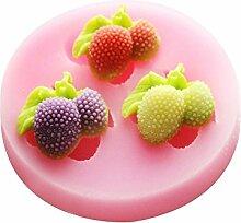 LC Litchi Fruit Schwenker X518Silikon Fondant