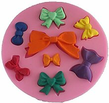 LC Schleife X1085Silikon Fondant Form Kuchen Form Schokolade Backen Sugarcraft Dekorieren Werkzeuge